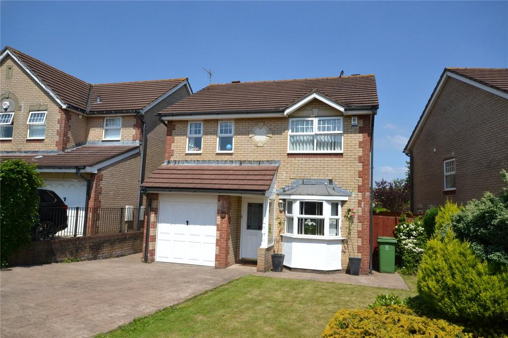 4 Bedrooms Detached House for sale in Clos Nant Glaswg, Pontprennau, Cardiff, CF23