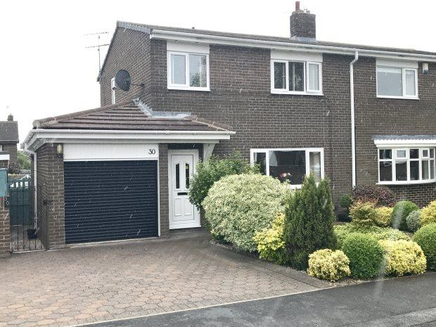3 Bedrooms Semi Detached House for sale in NORBURN PARK, WITTON GILBERT, DURHAM CITY : VILLAGES WEST OF