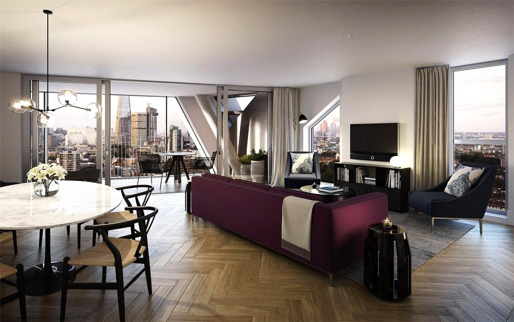 1 Bedroom Flat for sale in Two Fifty One, Union Street, Southwark, London, SE1
