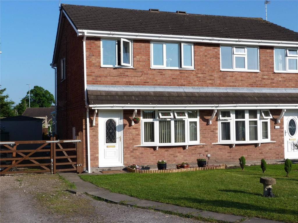3 Bedrooms Semi Detached House for sale in Rochester Crescent, Sydney, Crewe, Cheshire, CW1