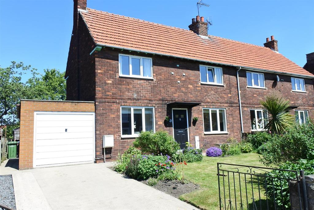 3 Bedrooms Semi Detached House for sale in Lascelles Lane, Northallerton