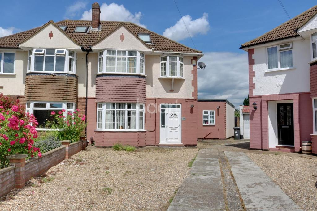 4 Bedrooms Semi Detached House for sale in Bannister Close