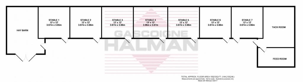 Floorplan 2 of 2: Stables