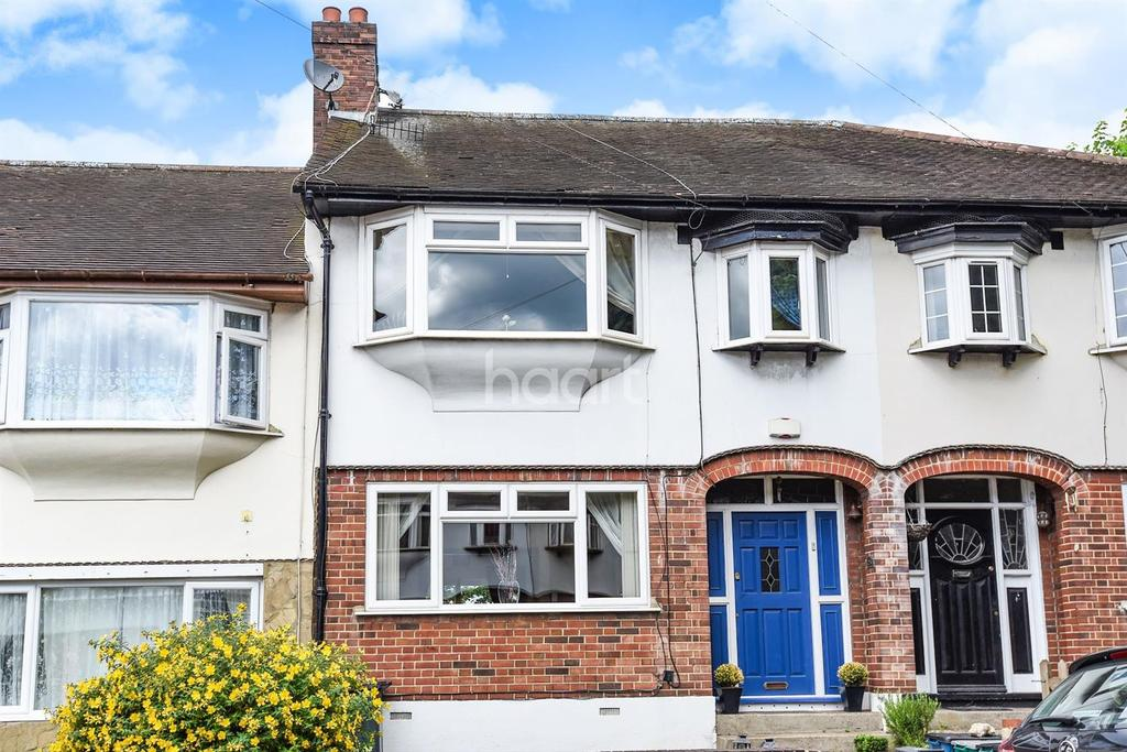 3 Bedrooms Terraced House for sale in Sunny Nook Gardens, South Croydon, CR2