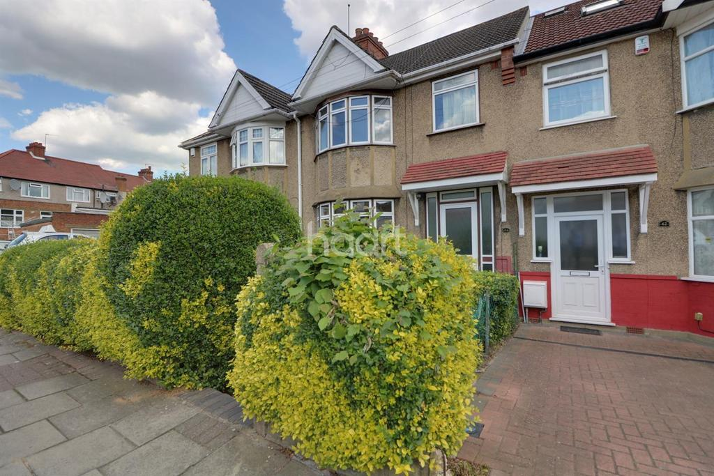 3 Bedrooms Terraced House for sale in Holden Avenue, Kingsbury, NW9