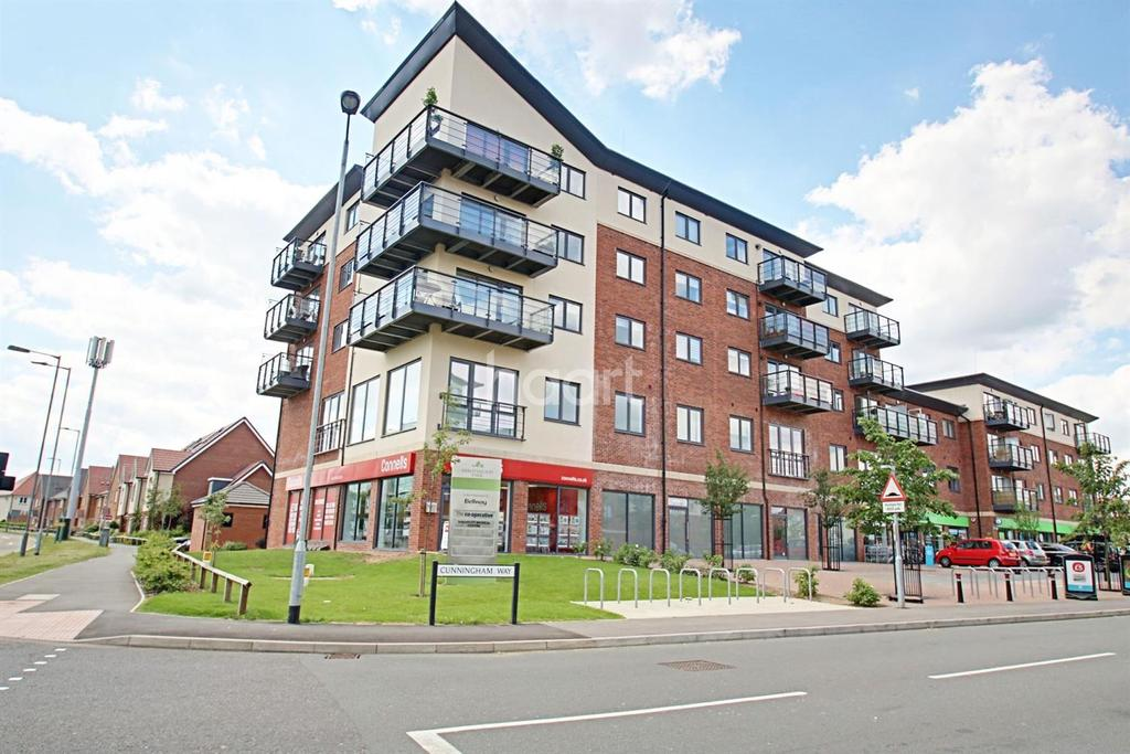 2 Bedrooms Flat for sale in Bateson Drive, Leavesden, WD25