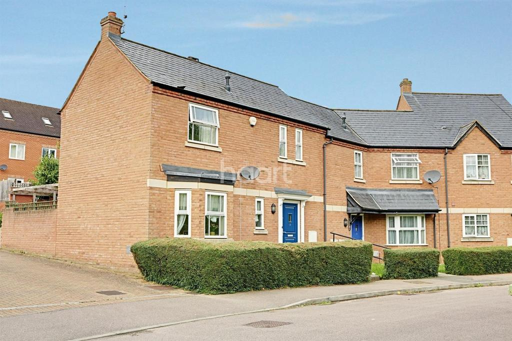 2 Bedrooms Semi Detached House for sale in Water Eaton