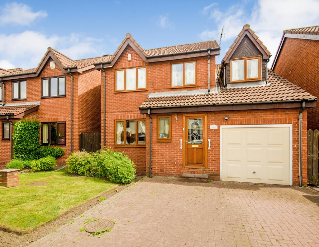 4 Bedrooms Detached House for sale in Durham Place, Birtley