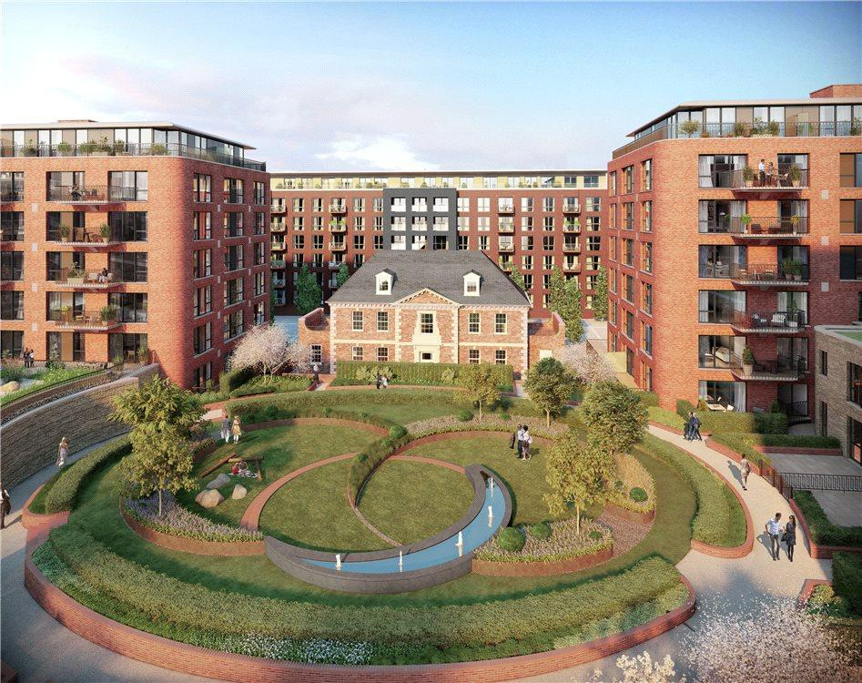 1 Bedroom Flat for sale in Royal Arsenal Riverside, Woolwich, London, SE18