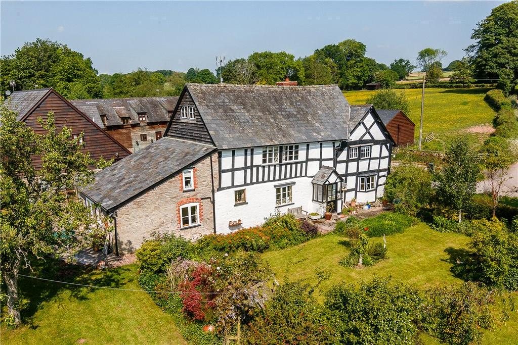 6 Bedrooms Detached House for sale in Woonton, Hereford, Herefordshire, HR3