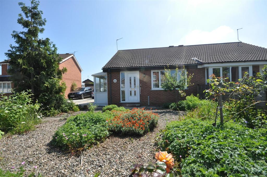 2 Bedrooms Semi Detached Bungalow for sale in Beaverdyke, Rawcliffe, York