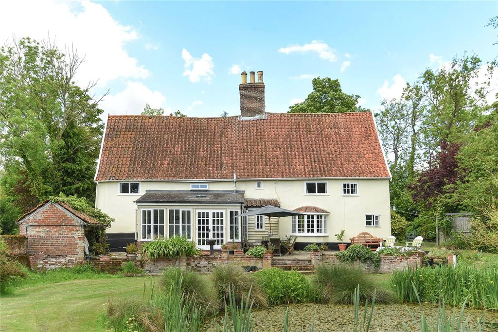 5 Bedrooms Unique Property for sale in Silverlace Green, Parham, Woodbridge, Suffolk, IP13