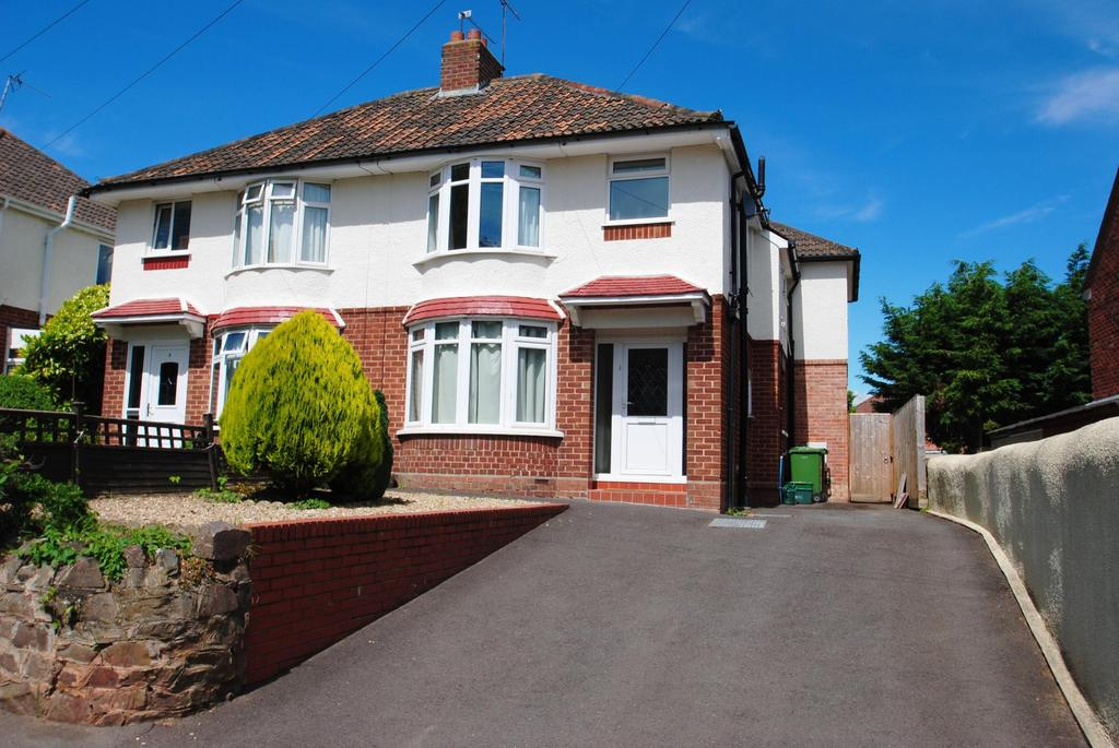 3 Bedrooms Semi Detached House for sale in Obridge Road, Taunton