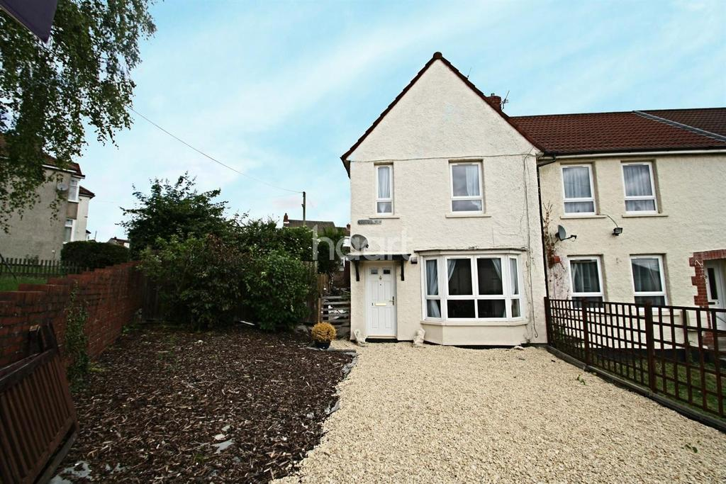 2 Bedrooms End Of Terrace House for sale in Kingswood, Bristol