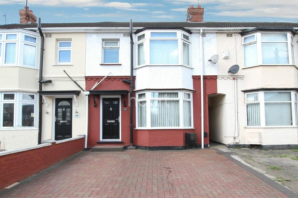 3 Bedrooms Terraced House for sale in Neville Road