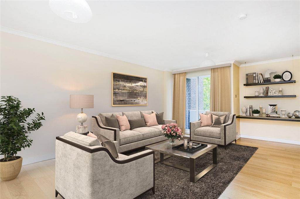 1 Bedroom Flat for sale in Valiant House, Vicarage Crescent, London