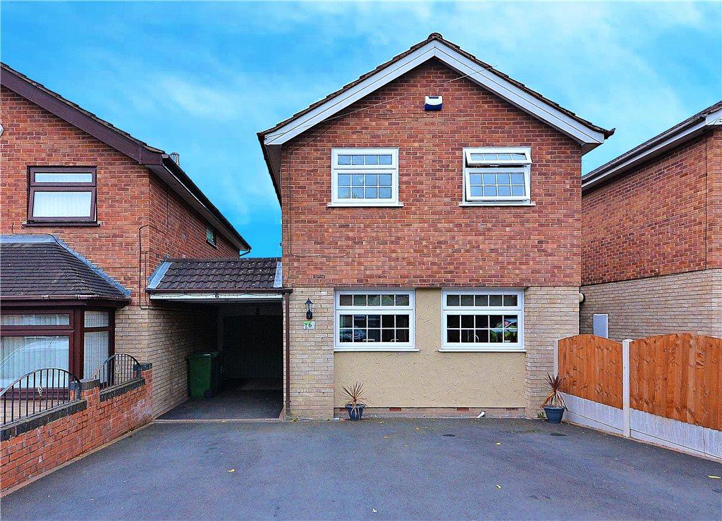 3 Bedrooms Link Detached House for sale in Warstone Close, Bewdley, DY12
