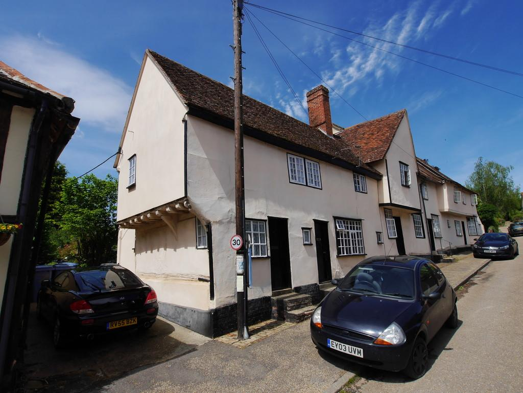 2 Bedrooms End Of Terrace House for sale in 1 The Street, Kersey, Ipswich, Suffolk, IP7 6ED