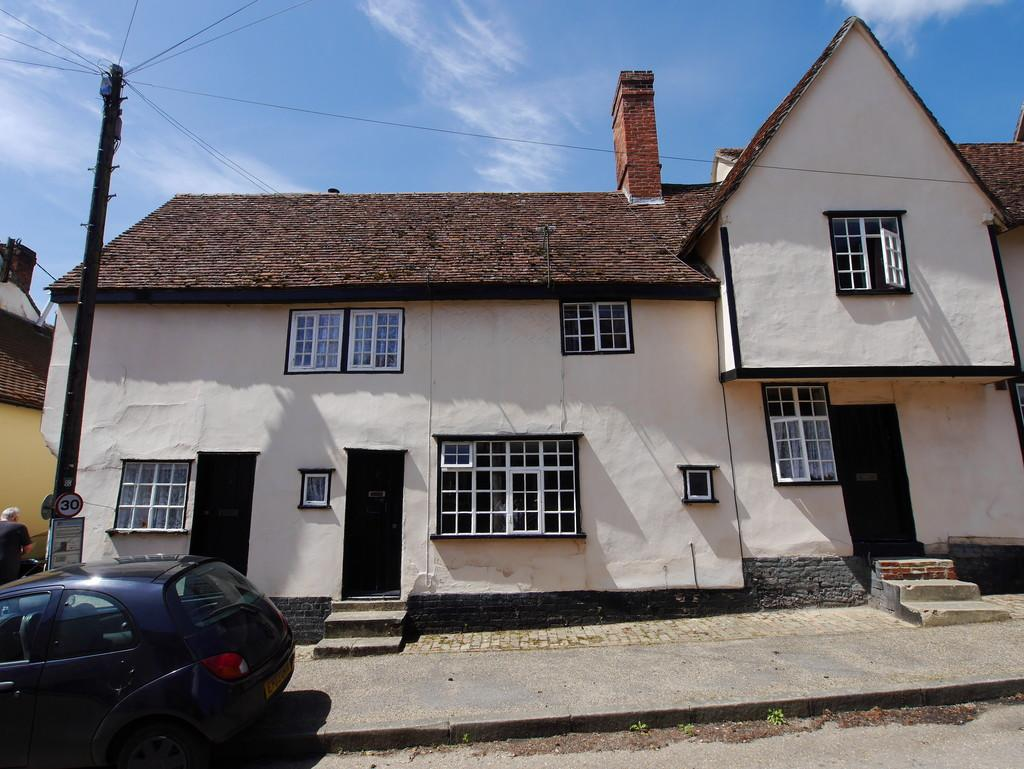 1 Bedroom Terraced House for sale in 2 The Street, Kersey, Ipswich, Suffolk, IP7 6ED