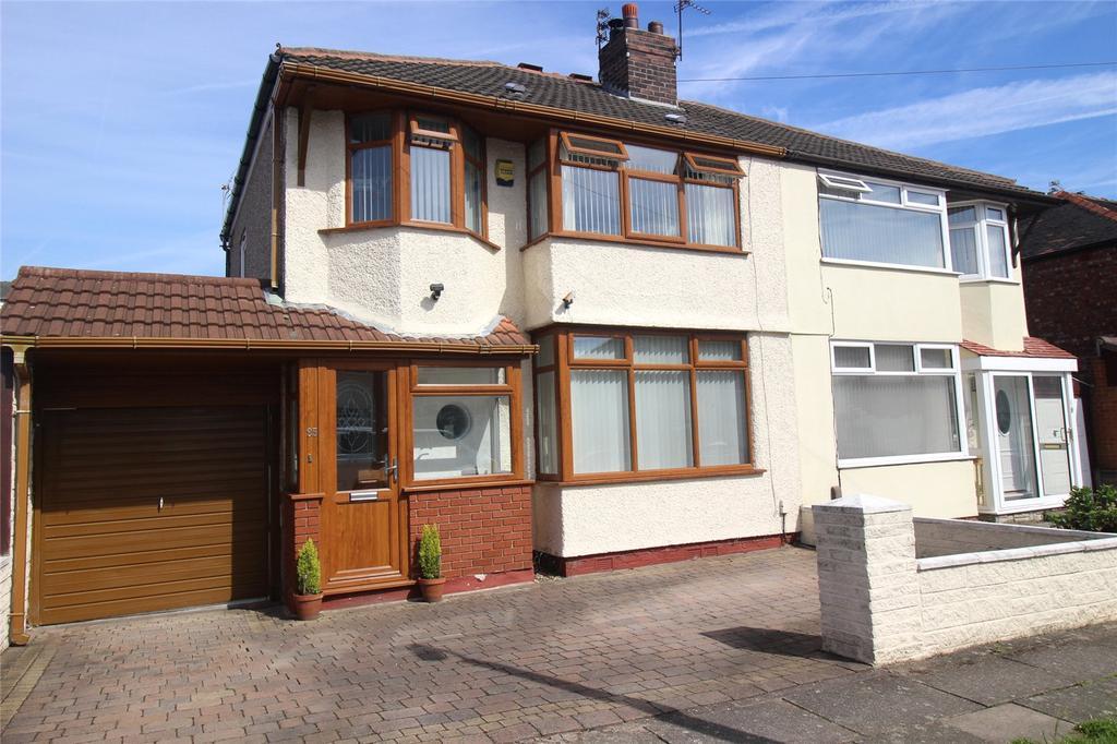 4 Bedrooms Semi Detached House for sale in Queenscourt Road, Liverpool, Merseyside, L12