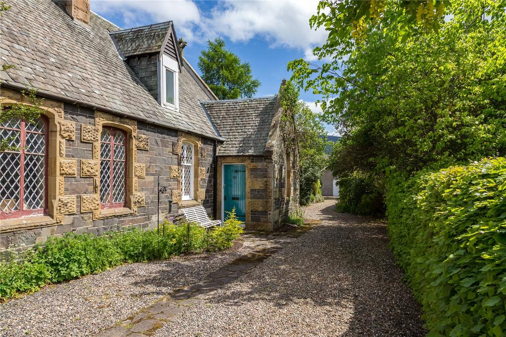 4 Bedrooms House for sale in The Old School House, High Street, Innerleithen, Peeblesshire, Scottish Borders