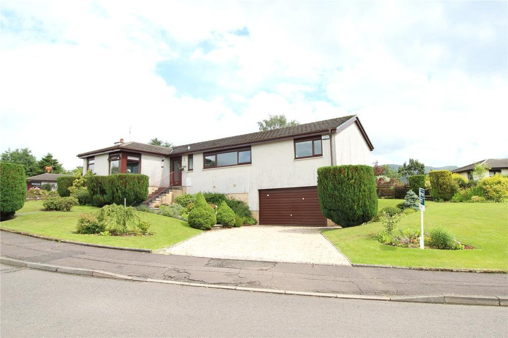 4 Bedrooms Detached Bungalow for sale in Lampson Road, Killearn, Glasgow