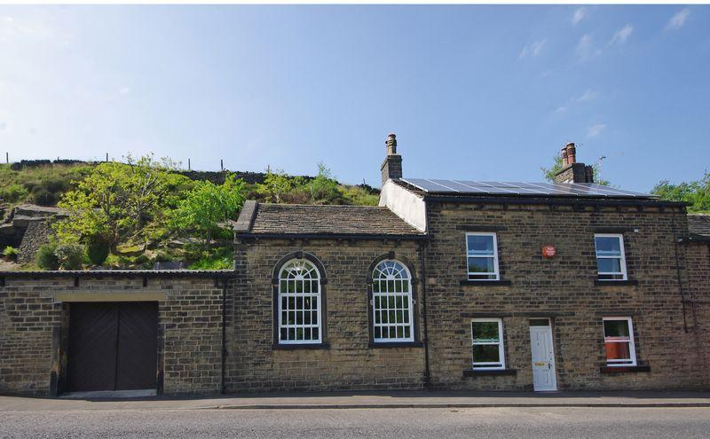 3 Bedrooms End Of Terrace House for sale in Oldham Road, Rishworth, HX6 4QU
