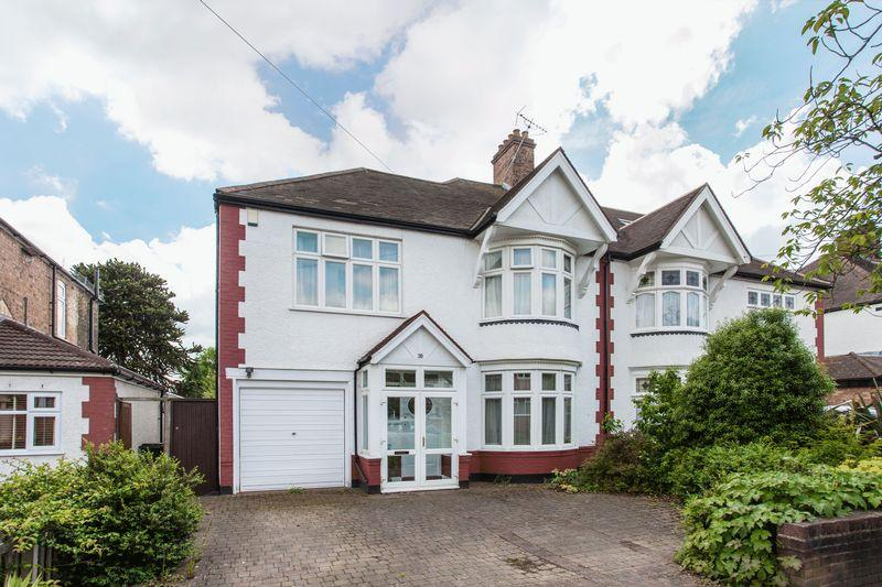 4 Bedrooms Semi Detached House for sale in Harwood Avenue, Bromley