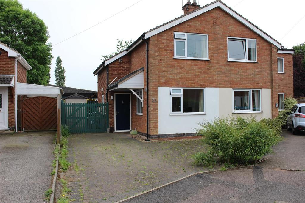 2 Bedrooms Semi Detached House for sale in Manor Road, Cosby, Cosby