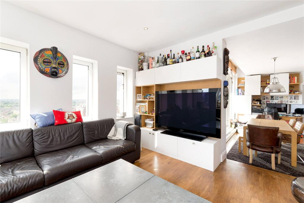 2 Bedrooms Flat for sale in Trade Tower, Plantation Wharf, Battersea, SW11