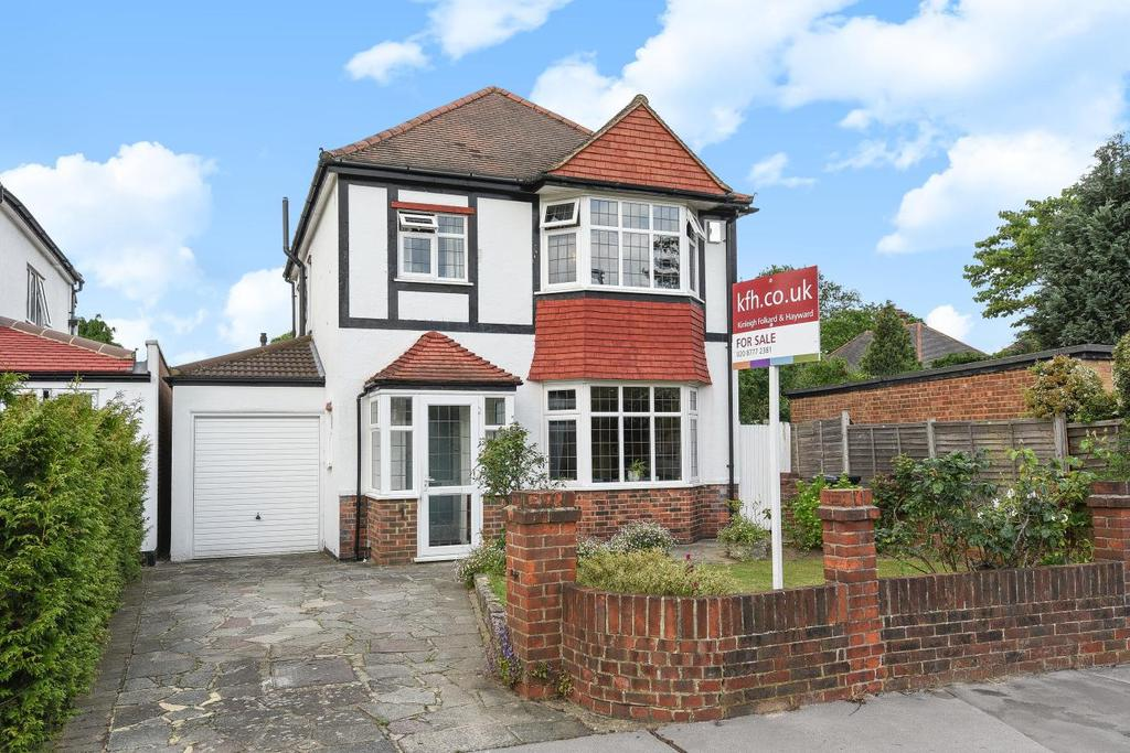 3 Bedrooms Detached House for sale in Graham Close, Croydon, CR0
