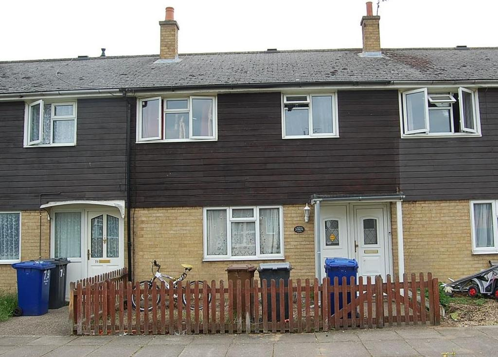 3 Bedrooms Terraced House for sale in Pembroke Close, Mildenhall