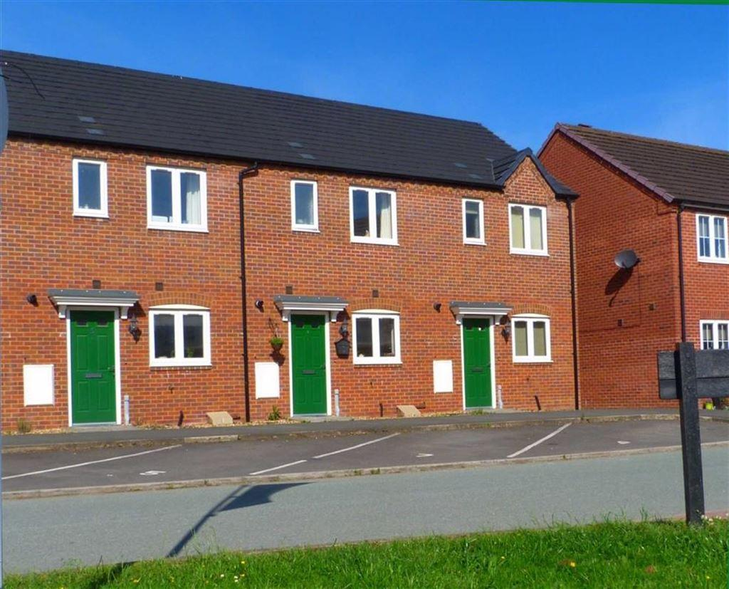 2 Bedrooms Terraced House for sale in Thomas Penson Road, Gobowen, Oswestry, SY11