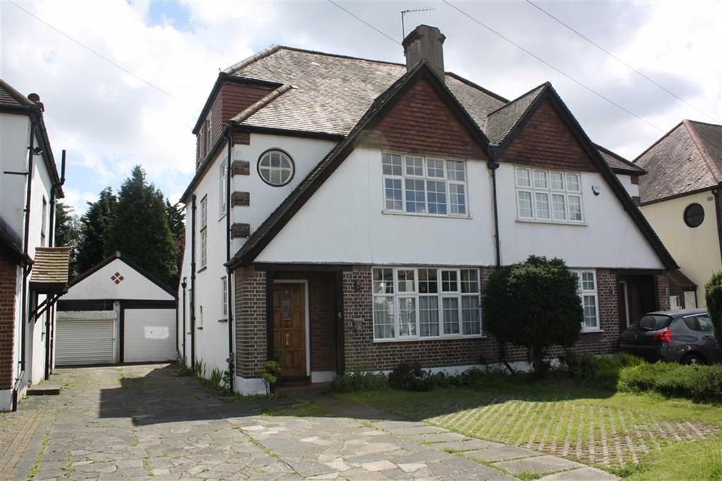 4 Bedrooms Semi Detached House for sale in Petts Wood Road, Petts Wood East
