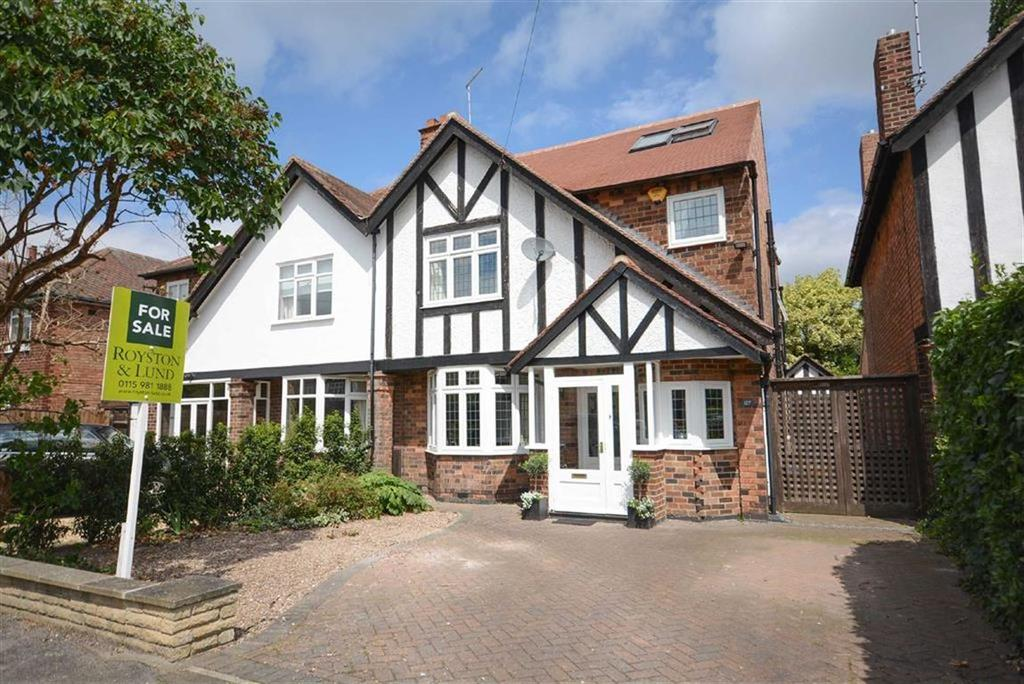 4 Bedrooms Semi Detached House for sale in Davies Road, West Bridgford