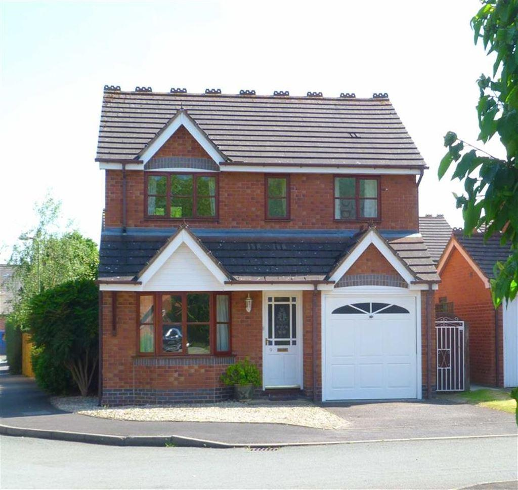3 Bedrooms Detached House for sale in Barley Meadows, Llanymynech, SY22