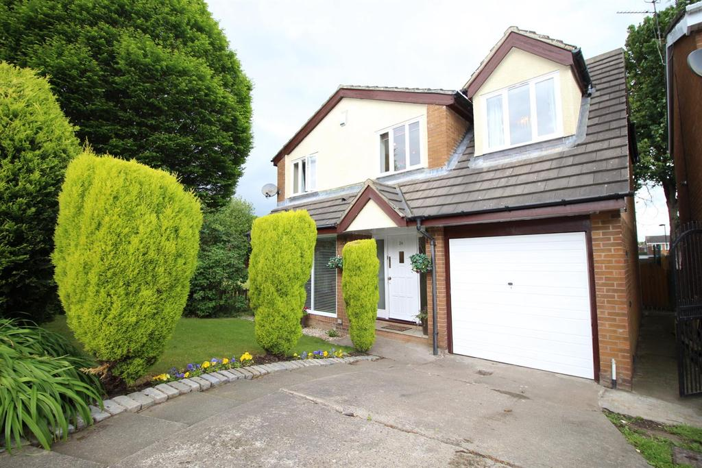 4 Bedrooms House for sale in Cranbrook Court, Newcastle Upon Tyne