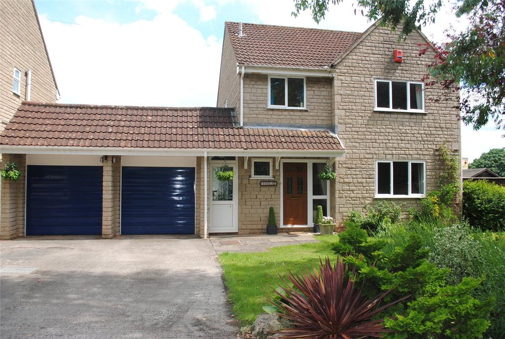 4 Bedrooms Detached House for sale in Station Road, Westbury Sub Mendip, Wells, BA5