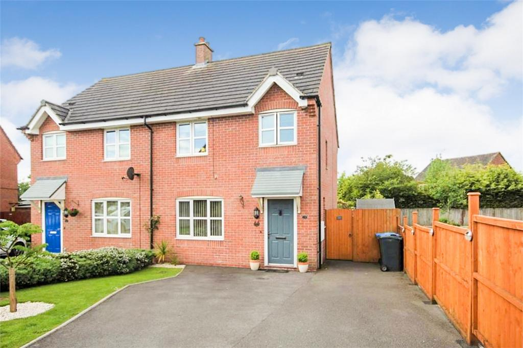 3 Bedrooms Semi Detached House for sale in Lathkill Drive, ASHBOURNE, Derbyshire