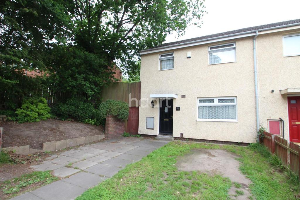 2 Bedrooms End Of Terrace House for sale in Lytham Gardens, Top Valley, Nottingham