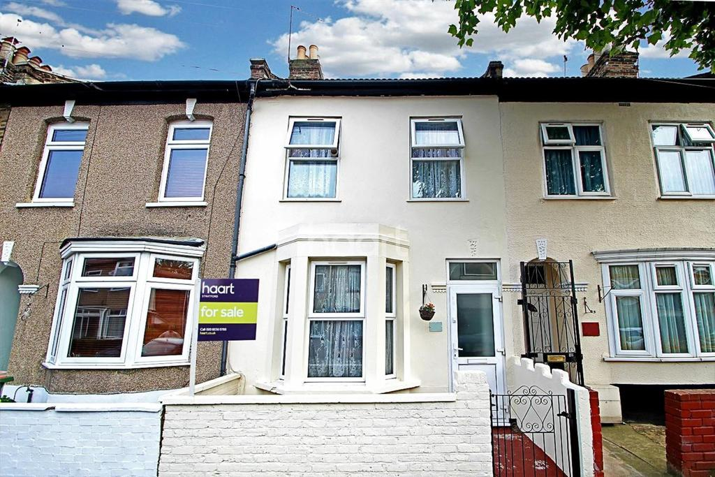3 Bedrooms Terraced House for sale in Colegrave Road, London, E15