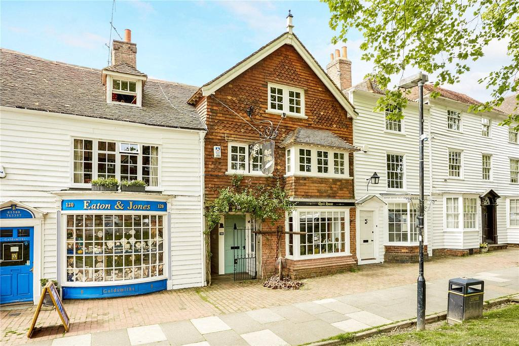 4 Bedrooms Terraced House for sale in High Street, Tenterden, Kent, TN30
