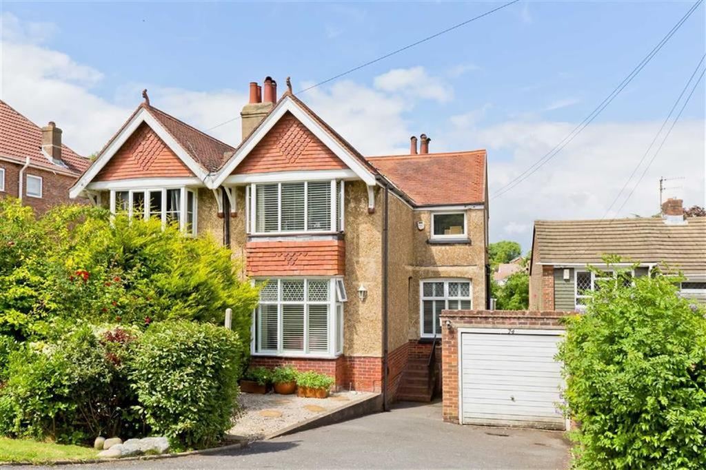 3 Bedrooms Semi Detached House for sale in Tongdean Lane, Brighton