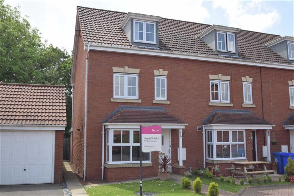 4 Bedrooms Terraced House for sale in Waterdale Close, Bridlington, East Yorkshire, YO16