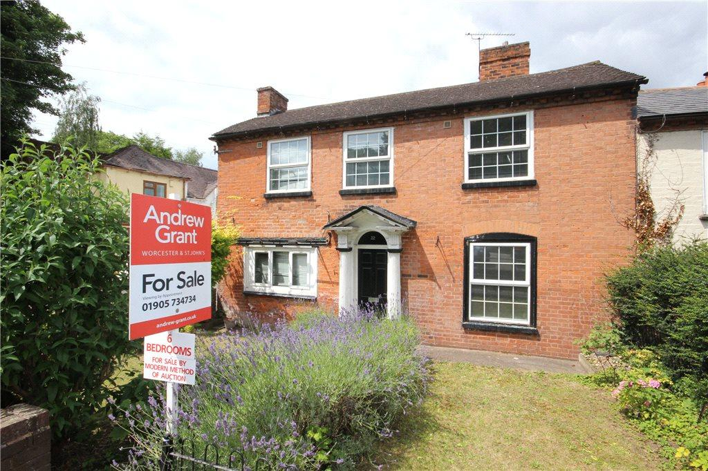 6 Bedrooms Semi Detached House for sale in The Village, Powick, Worcester, Worcestershire, WR2