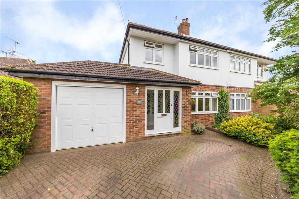 3 Bedrooms Semi Detached House for sale in West Riding, Bricket Wood, St. Albans, Hertfordshire