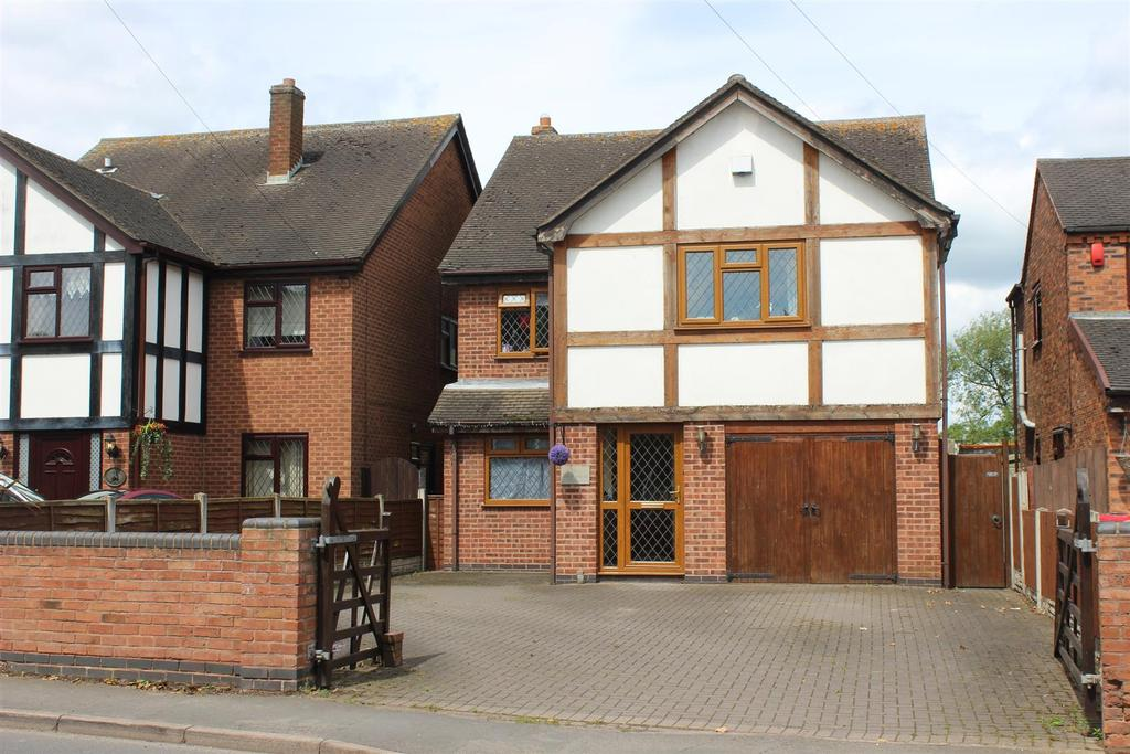 4 Bedrooms Detached House for sale in Main Road, Shuttington, Tamworth