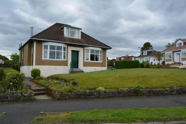 3 Bedrooms Detached Bungalow for sale in 21 Keystone Quadrant, Milngavie, Glasgow, G62 6LL