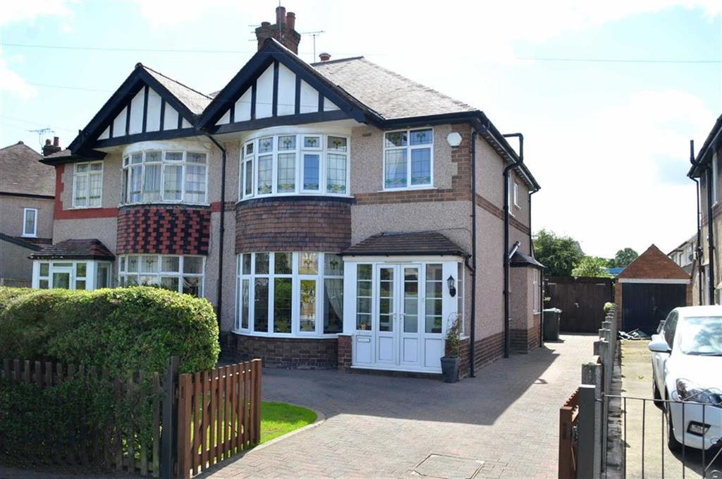 4 Bedrooms Semi Detached House for sale in Parkfield Drive, Whitby, CH65