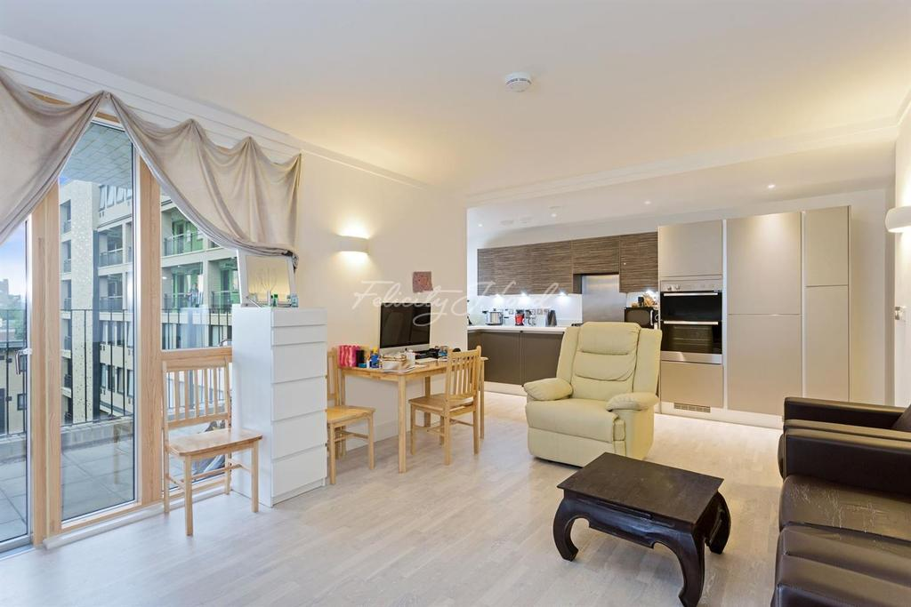 2 Bedrooms Flat for sale in Triangle Apartments, E14